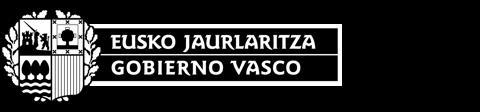 Logo Gobierno Vasco - Eusko Jaurlaritza